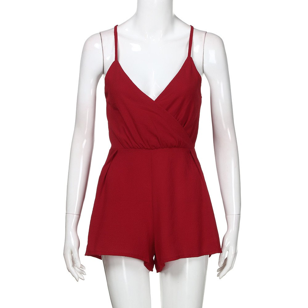Casual Clubwear Playsuit Shorts Off Shoulder Jumpsuit Romper Outfit T Shirts Funnygals Sleeveless Jumpsuits for Women