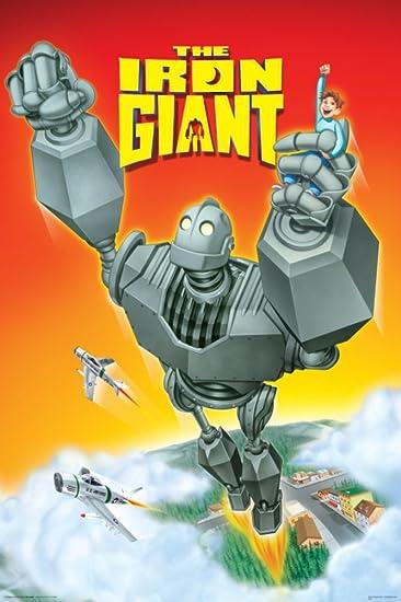 Amazon.com: (24x36) Iron Giant Movie Score Poster Movie Poster ...