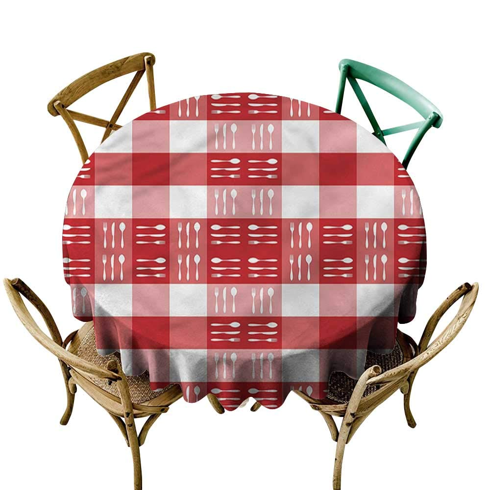 sashimee Checkered Restaurant tableclothCutlery Dining TileD51 Great for Buffet Table
