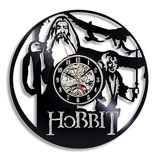 TPFEI Reloj de Pared Diseño Moderno Película Decoración 3D ...