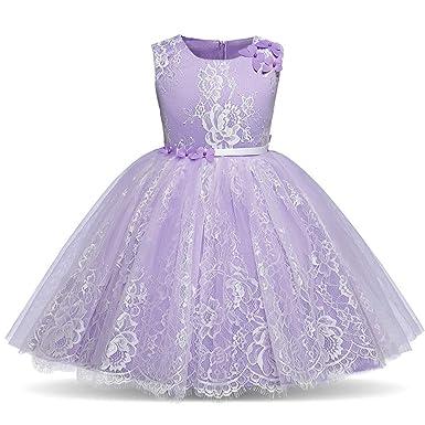promo code 2f99c 79d18 Covermason Kind Mädchen Spitzenkleid Prinzessin Kleid ...