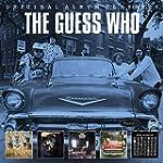GUESS WHO, THE - 5 CD ORIGINAL ALBUM...