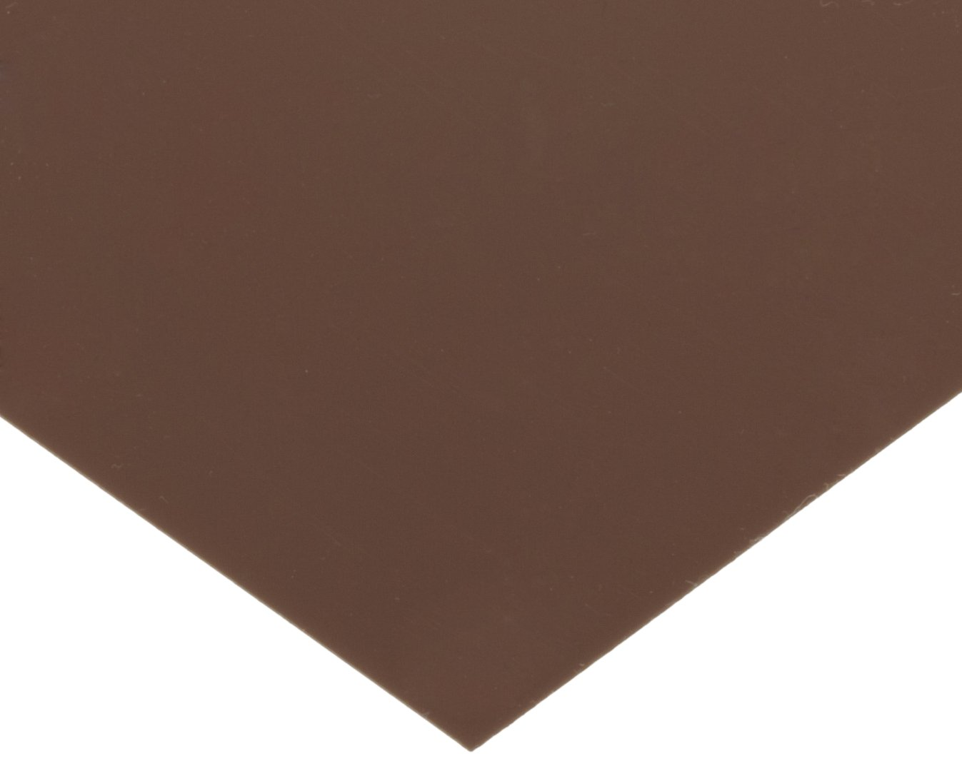PVC (Polyvinyl Chloride) Shim Stock, Flat Sheet, Brown, 0.010'' Thickness, 10'' Width, 20'' Length (Pack of 10) by Small Parts