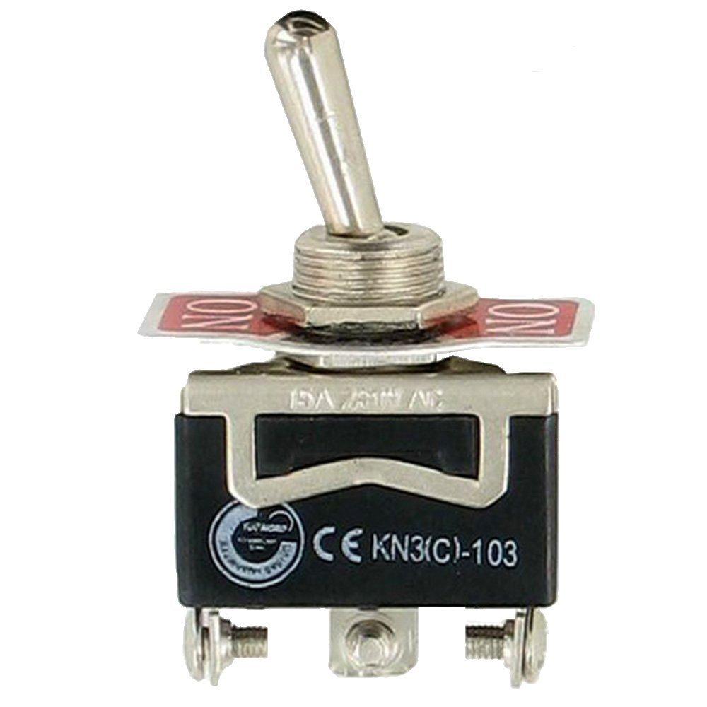 5 x On On - OFF - momentané inverseurs Interrupteur à bascule 250 V AC 15 A