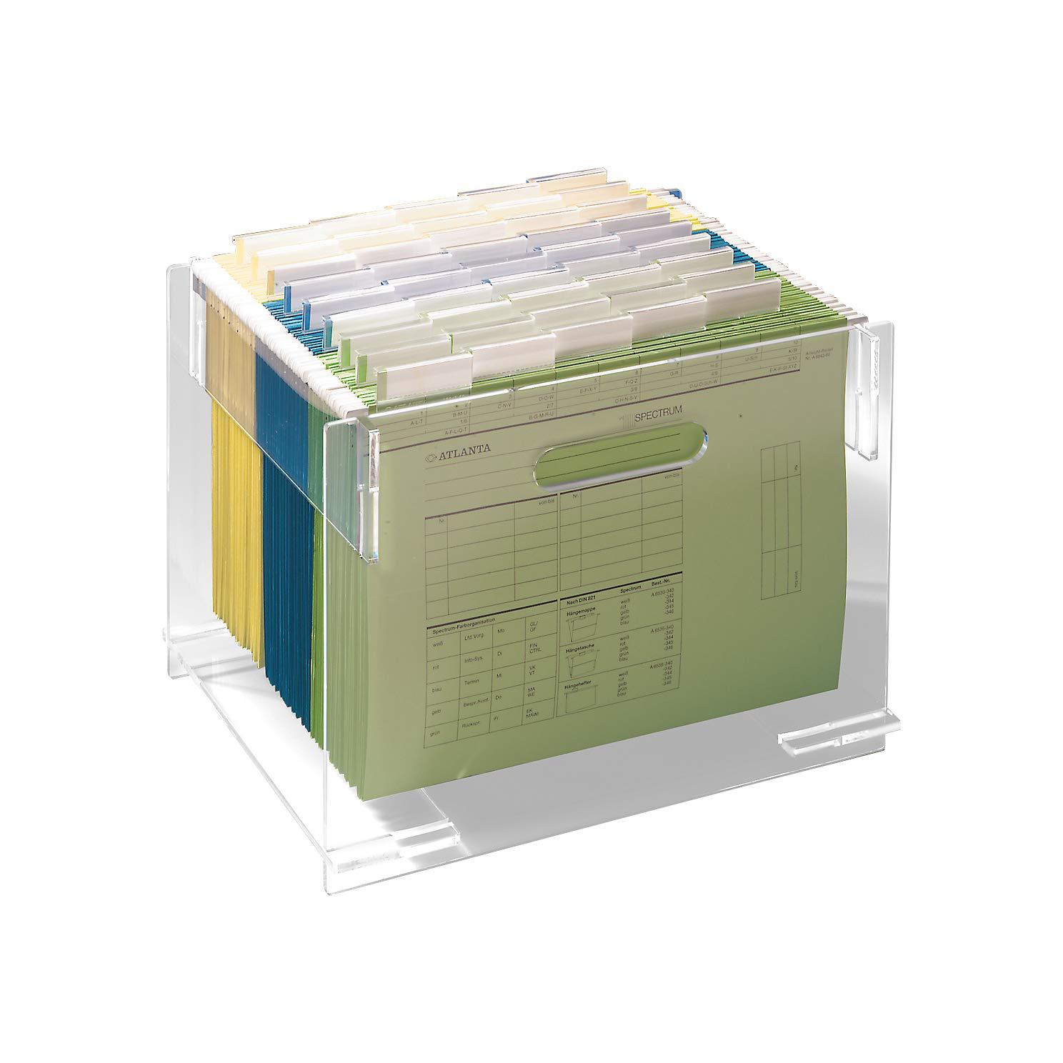 Hängemappengestell aus stabilem Acryl, für für für etwa 30 DIN A4 Mappen, glasklar B002JIID2I | New Products  71fd8c