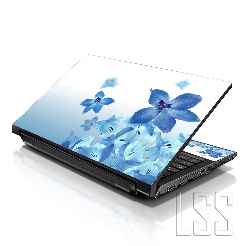 2 Wrist Pad Inklusive gratis Schwarz Geschliffen LSS 15 39,62 cm Art Aufkleber Sticker Skin f/ür Notebook 33,78 cm 35,56 cm 39,62 cm 40,64 cm HP Lenovo Apple ASUS Acer Compaq Dell