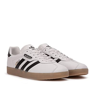 new product b64d2 090af adidas Gazelle Super Mens in WhiteBlackGum, 4