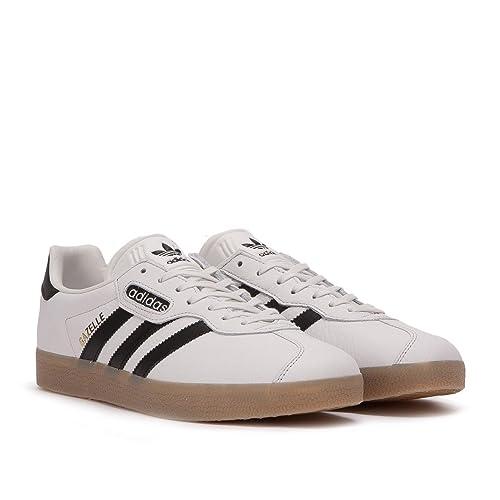 timeless design 856f4 189a8 adidas Gazelle Super Mens in White Black Gum, 4