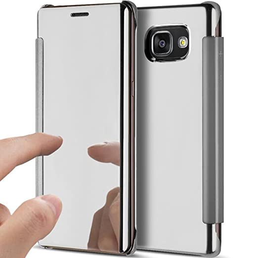 YSIMEE Funda Samsung Galaxy A7 2016Carcasa Clear View Cover Funda ...