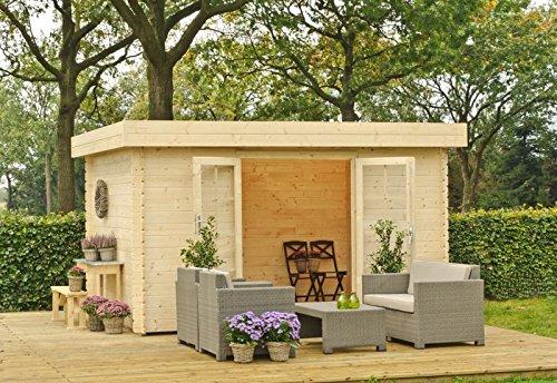 Outdoor Gartenhaus / Flachdachhaus Xena 300