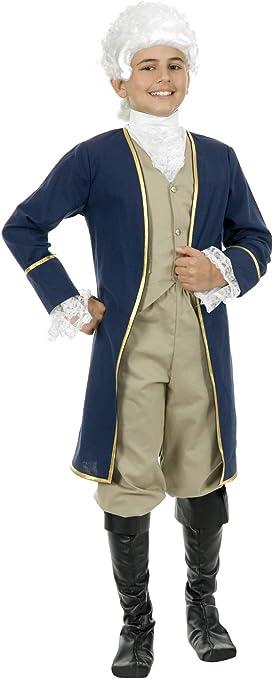Founding Father George Washington Child Costume