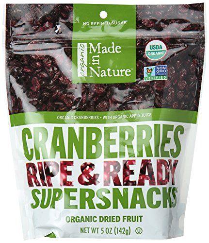 Made In Nature, Organic Cranberries, 5 oz by Made In Nature