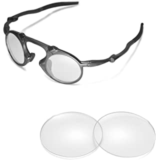 23eb7b86b6d Walleva Replacement Lenses For Oakley Madman Sunglasses - Multiple Options  Available (Clear)
