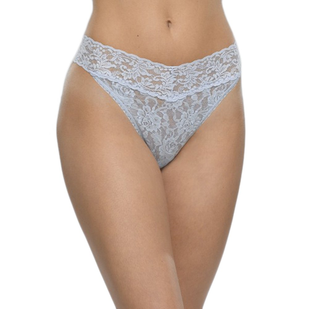 Hanky Panky Rolled Signature Lace Original Rise Thong O/S) 4811P