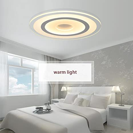 Amazon.com: biutefang fino Techo LED luces de sala de estar ...