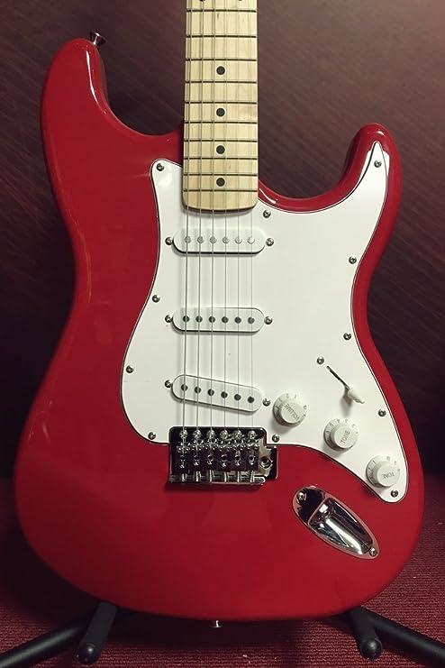 Paragon S-Type - Guitarra eléctrica, color rojo: Amazon.es ...
