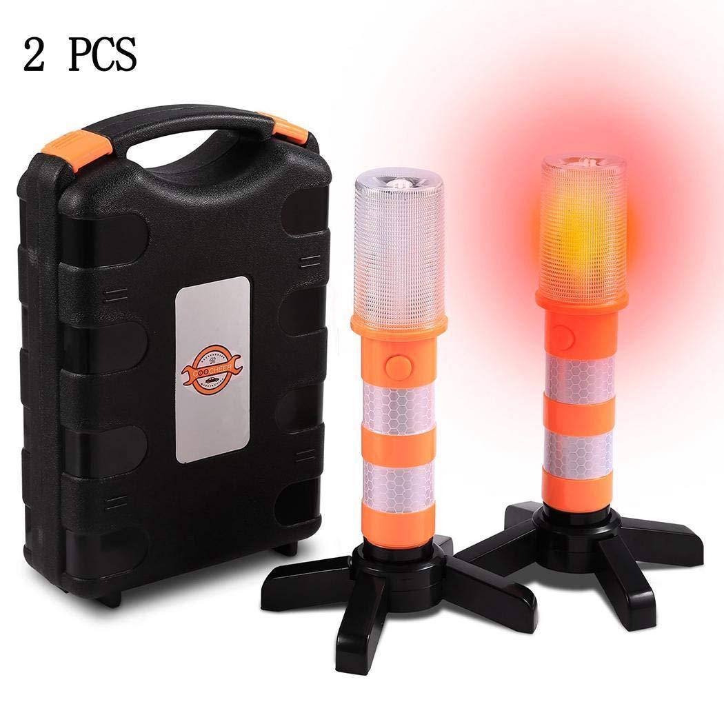 Giuoke Portable Emergency Light Traffic Alert Light Stick Security Strobe Alert Traffic Message Channel (TMC) Receiver Modules by Giuoke