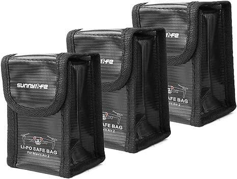Details about  /Lipo battery flameproof safe bag storage bag for dji mavic air 2 show original title