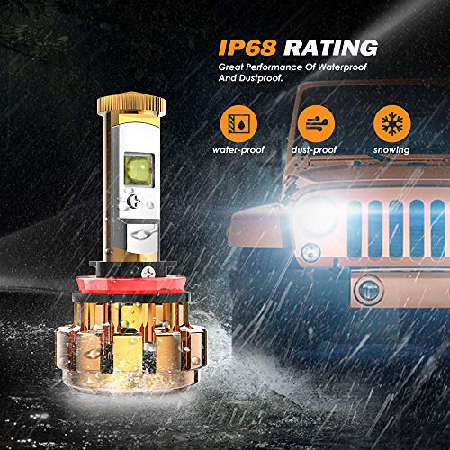 Jual Auxbeam H11 Led Headlight Bulb F 16 Series Extremely