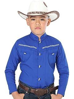 Camisa Vaquera Charra M/Larga El General 65% Polyester 35% Algodón ID 40360