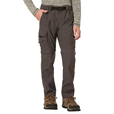 43329fc65 UNIONBAY Boy's Youth Convertible Lightweight Comfort Stretch Cargo Pants/ Shorts (X-Small (