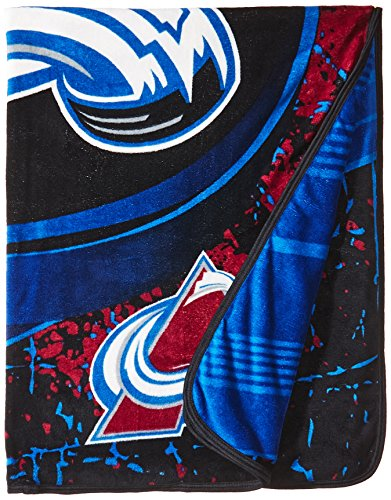 - The Northwest Company Officially Licensed NHL Ice Dash Micro Raschel Throw Blanket, 46