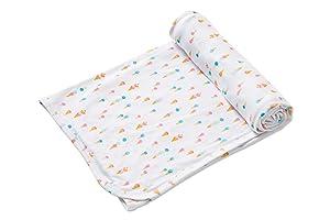 Angel Dear Ice Cream - Bamboo Fiber Knit Swaddle Blanket
