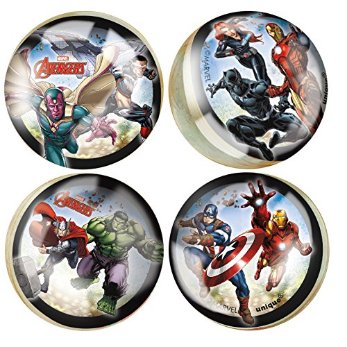 Avengers Bouncy Ball Party Favors, -