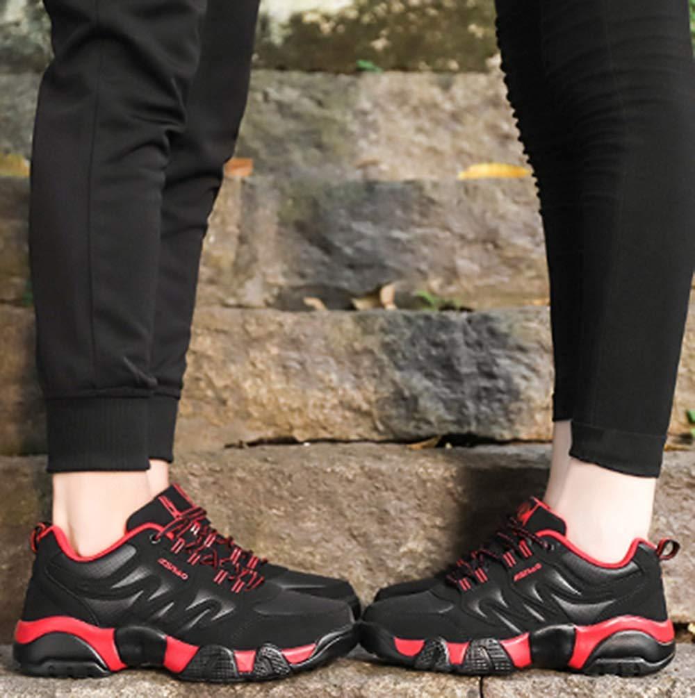 Oudan Männer Sportschuhe Freizeitschuhe Laufschuhe Laufschuhe Laufschuhe Mode Basketball Schuhe (Farbe   Rot, Größe   39EU) a457bd