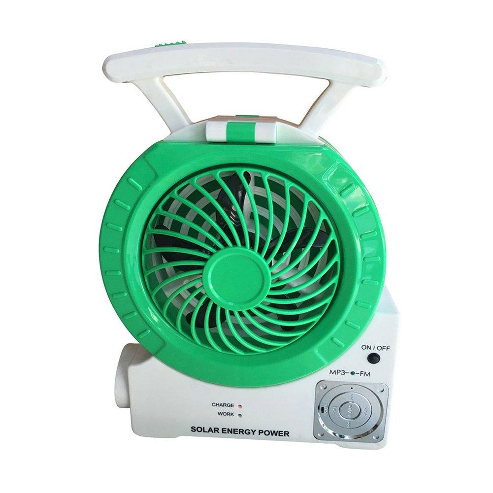 Multi Function Solar Fan Electric Outdoor Fishing Fan With