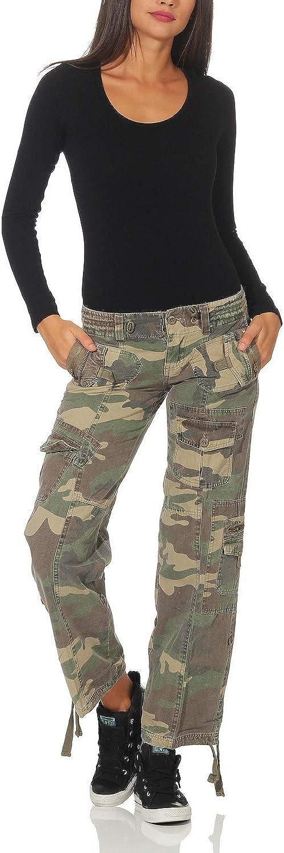 Fy Pantalon Mujer Pantalones De Camuflaje Ejercito Pantalones Casuales Pantalones De Mezclilla Tarnlook Vintage Ropa Mujer