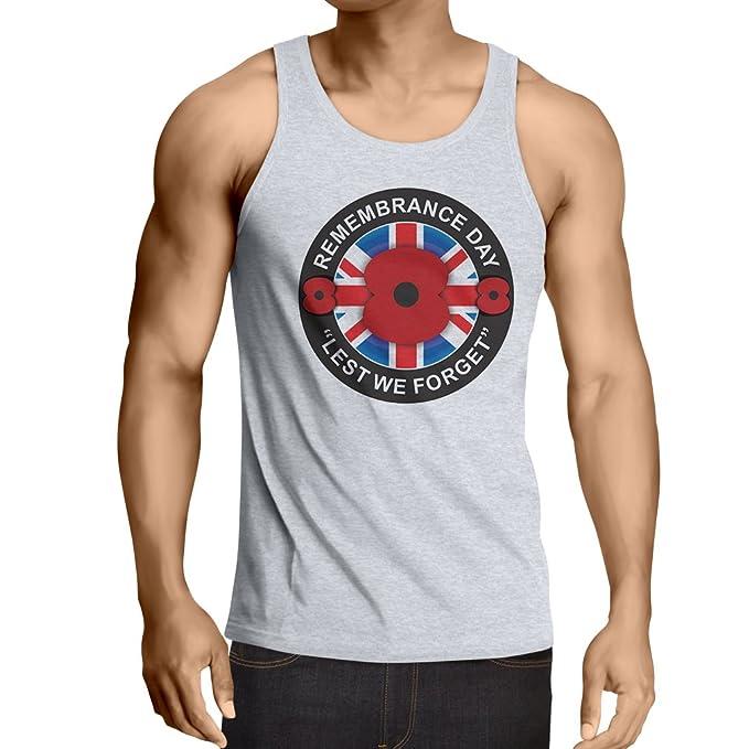 lepni.me Camisetas de Tirantes para Hombre Día de la conmemoración - para Que no Nos olvidemos: Amazon.es: Ropa y accesorios