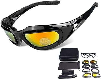 ZHIYIJIA Gafas de sol deportivas polarizadas para motocicleta con ...