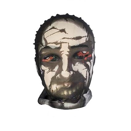 Halloween Scary máscara de cara completa tela calcetín talla única – muertos vivientes