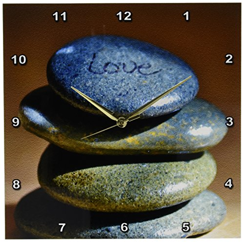 3dRose dpp 45294 2 Rocks Love Inspirational Photography Wall 13 Inch product image