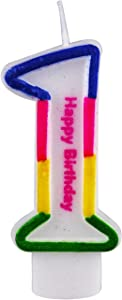 Sweepstakes: Willcan Number 1 Colorful Birthday Candles