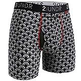 2Undr Men's Underwear Swing Shift Boxer Brief (Fan Club, Medium)