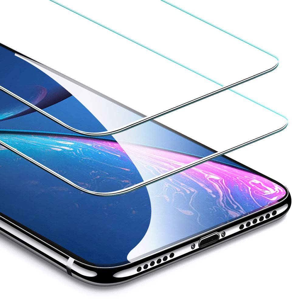 ESR Screen Protector Compatible for iPhone XR [2 Pack], Premium Tempered Glass Screen Protector for iPhone XR 6.1 inch (2018) Electronic Silk Road Corp 4894240067819