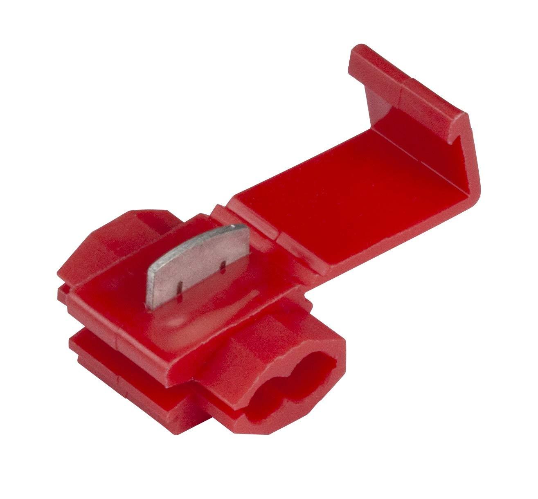 GTSE 100 unidades de conectores de empalme en l/ínea de bajo voltaje cableado el/éctrico r/ápido terminales de engarce premium