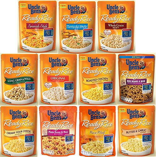 Uncle Ben's Ready Rice Ultimate Variety Bundle, 11 Popular Flavors, Microwave ReadyTo Serve in 90 Seconds, 8.8 ounce
