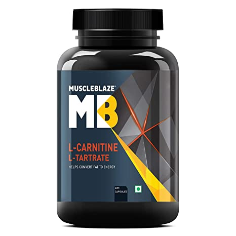 Buy MuscleBlaze L-Carnitine L-Tartrate, (60 Tablets) Online at Low ...