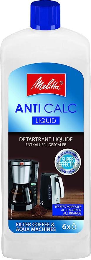 Melitta 192618 Descalcificador Liquido Anti Calc para Cafeteras de ...