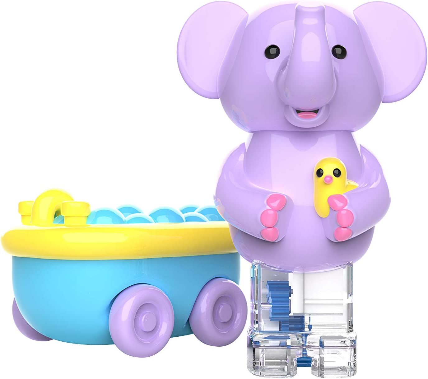 Educational Insights Zoomigos Elephant with Bath Tub Zoomer - Toddler Toy