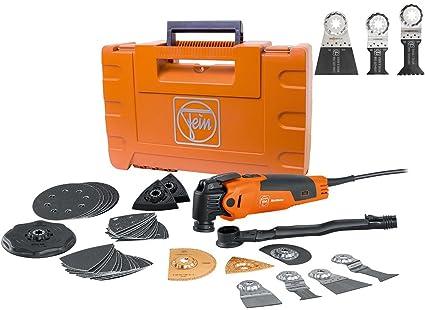 Fein MultiMaster Top Kit FMM350QSL W/ 3 Pack E-Cut Saw