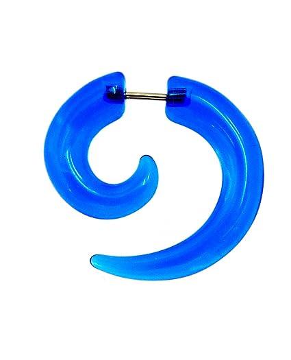 piercing-dreams - Dilatador Falso con Forma de Espiral (acrílico, 1,2