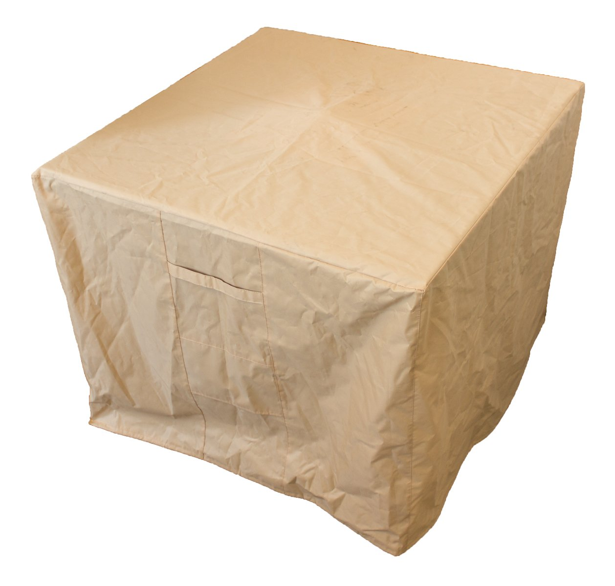 AZ Patio Heaters - CA HVD-PRPC-CVR Cover for Conventional Square Fire Pit, Tan product image