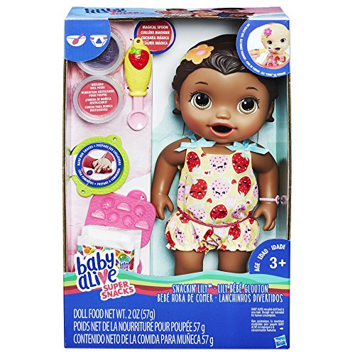 Baby Alive Super Snacks Snackin' Lily (African American