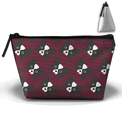 70%OFF Cute Papillon Dog Cartoon Cosmetic Bag Handbag/Wrist Bag/Clutch Bag/Cell Phone Bag/ Ladies Purse