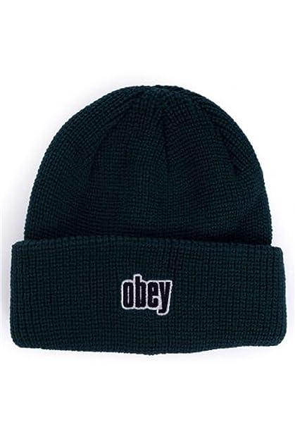 Obey 22418A042-JUNGLE-BEANIE Gorra Hombre UNI: Amazon.es: Ropa y accesorios