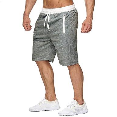 Kangcheng Pantalones Cortos Deportivos para Hombres Pantalones de ...